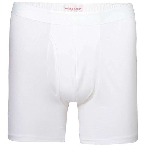 Derek Rose White Alex 1 Micro Modal Stretch Trunk