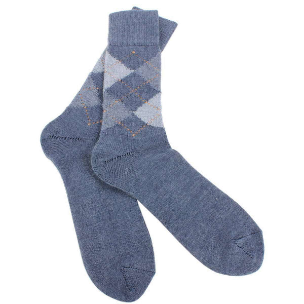 Burlington Grey Preston Argyle Socks