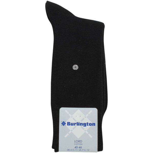 Burlington Black Lord Socks