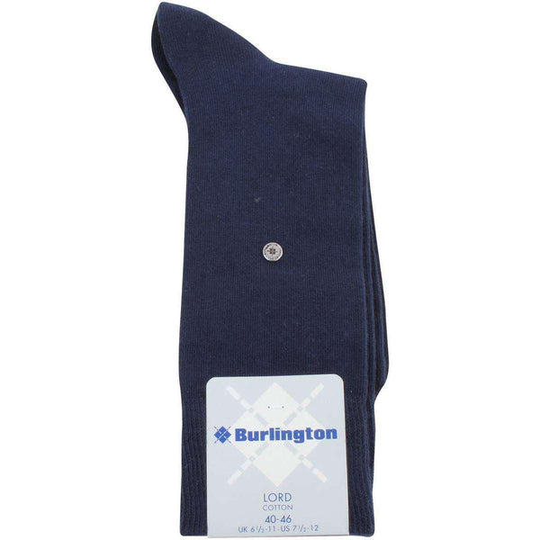Burlington Navy Lord Socks