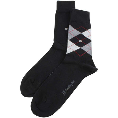 Burlington Black Everyday Mix 2 Pack Socks