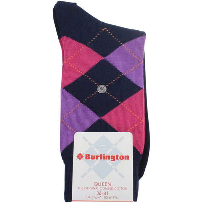 Burlington Navy Queen Socks