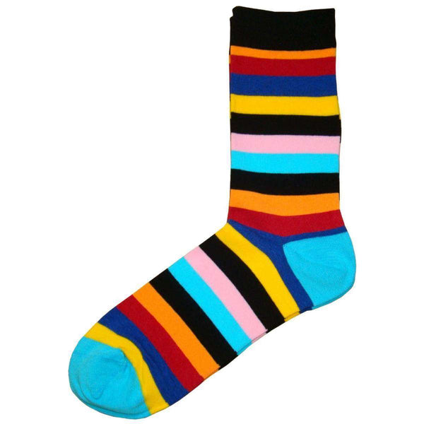 Bassin and Brown Multi-colour Multi Stripe Socks