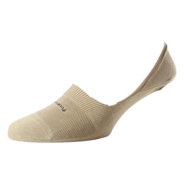 Pantherella Beige Footlet Egyptian Cotton Foot Liner Socks