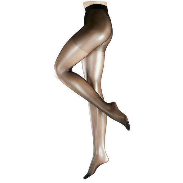 Falke Black Invisible Deluxe 8 Denier Ultra-Transparent Matte Tights