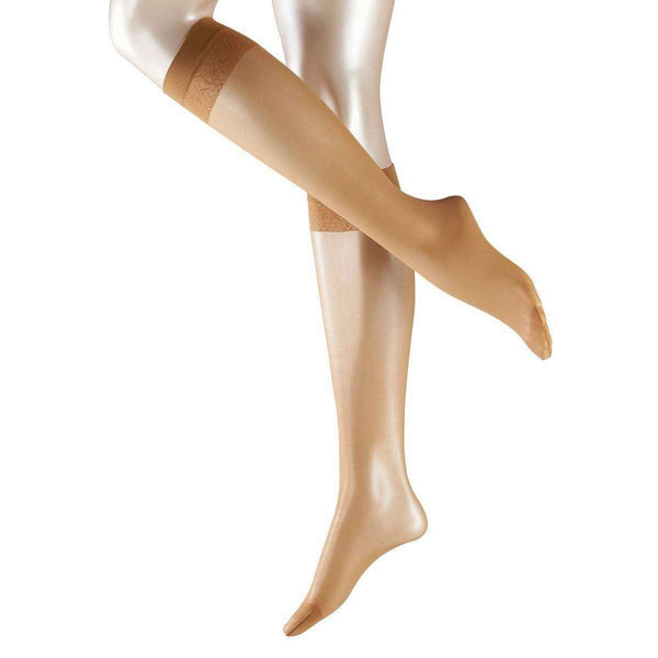 Falke Tan Matte Deluxe 20 Denier Transparent Matte Knee High Tights