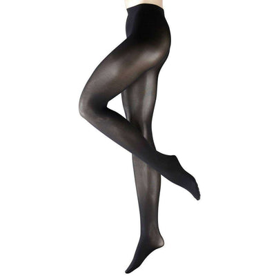 Falke Black Pure Matte 50 Denier Semi-Opaque Matte Tights