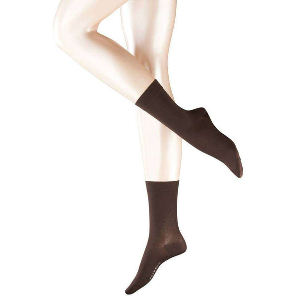 Falke Brown Cotton Touch Socks