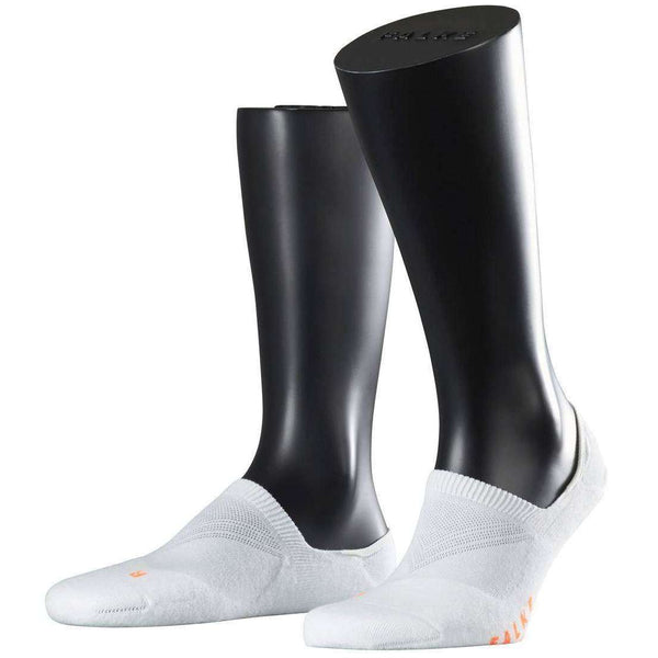 Falke White Cool Kick Invisible Shoe Liners