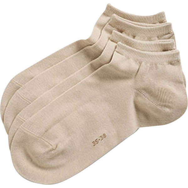 Esprit Cream Classic Sneaker 2 Pack Socks