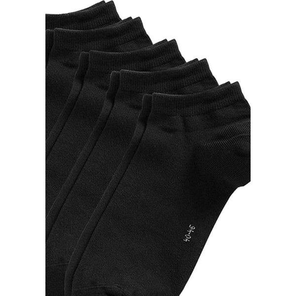 Esprit Black Block Coloured Sneaker 5 Pack Socks