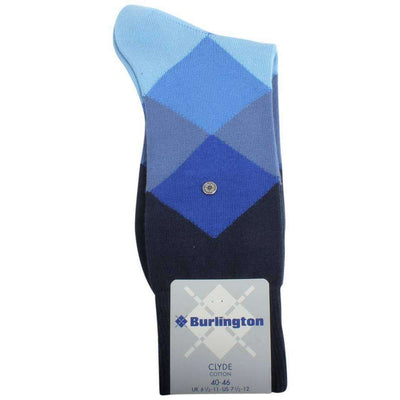 Burlington Blue Clyde Socks
