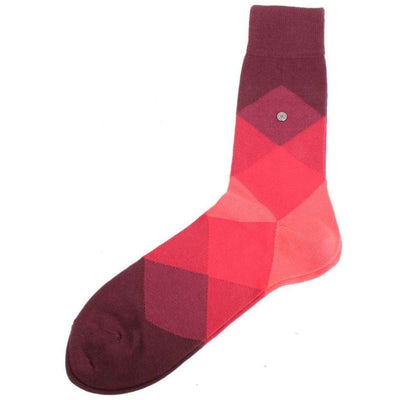 Burlington Red Clyde Socks