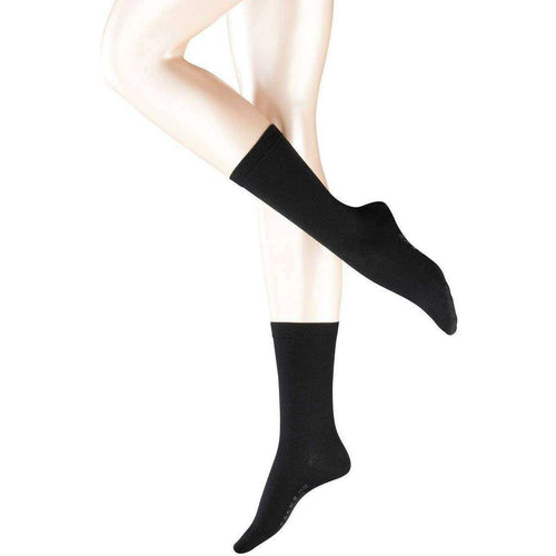 Falke Black Softmerino Socks