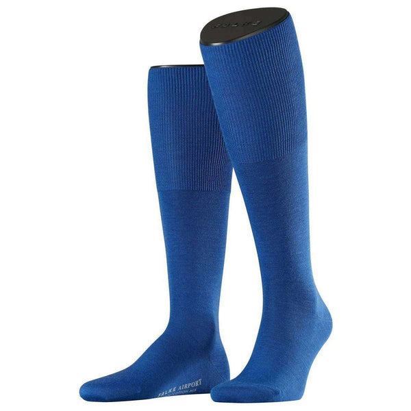 Falke Blue Airport Knee High Socks