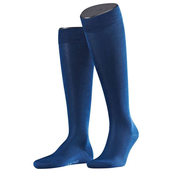 Falke Blue Tiago Knee High Socks