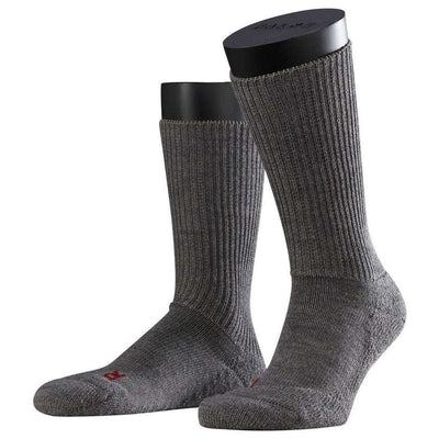 Falke Grey Walkie Ergo Midcalf Socks