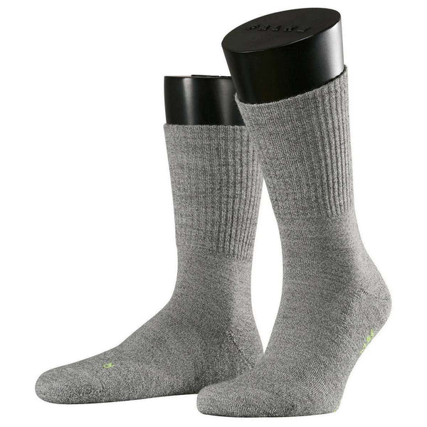 Falke Grey Walkie Light Midcalf Socks