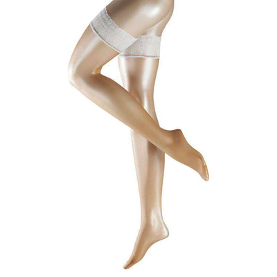 Falke Tan Lunelle Ultra-Transparent Shimmer 8 Denier Stockings