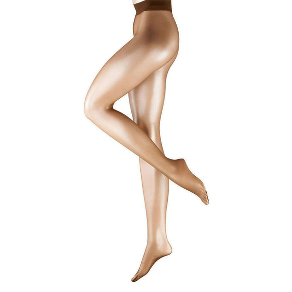 Falke Brown Shelina Ultra-Transparent Shimmer 12 Denier Tights