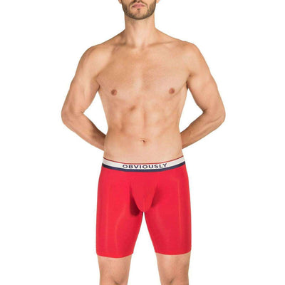 Obviously Red PrimeMan AnatoMAX Boxer Brief 9inch Leg