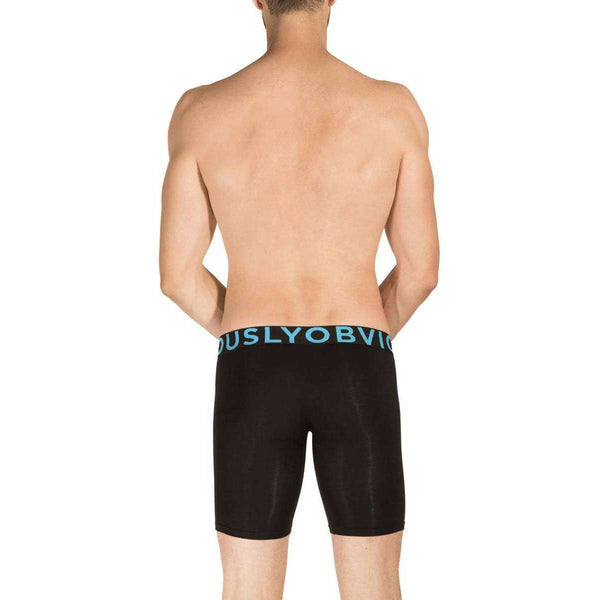 Obviously Black EveryMan AnatoMAX Boxer Brief 9inch Leg