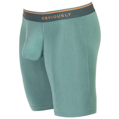 Obviously Green EveryMan AnatoMAX Boxer Brief 9inch Leg