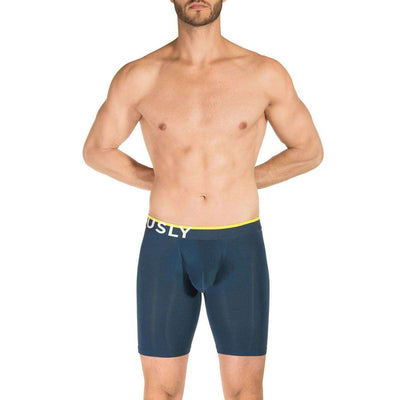 Obviously Navy EveryMan AnatoMAX Boxer Brief 9inch Leg