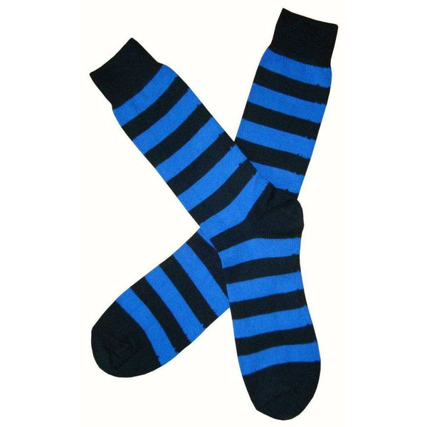 Bassin and Brown Black Striped Midcalf Socks