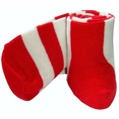 Bassin and Brown Red Striped Midcalf Socks