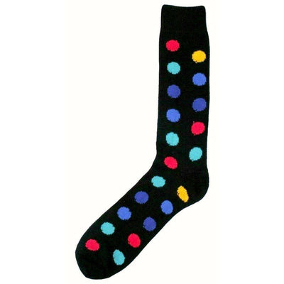 Bassin and Brown Black Spotted Midcalf Socks