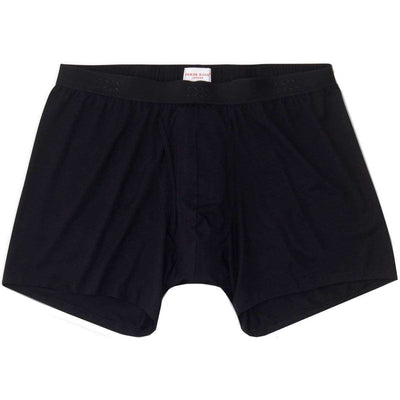 Derek Rose Black Alex 1 Micro Modal Stretch Trunk