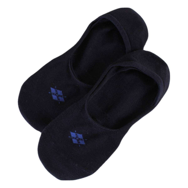 Burlington Navy Everyday Invisible 2 Pack Socks