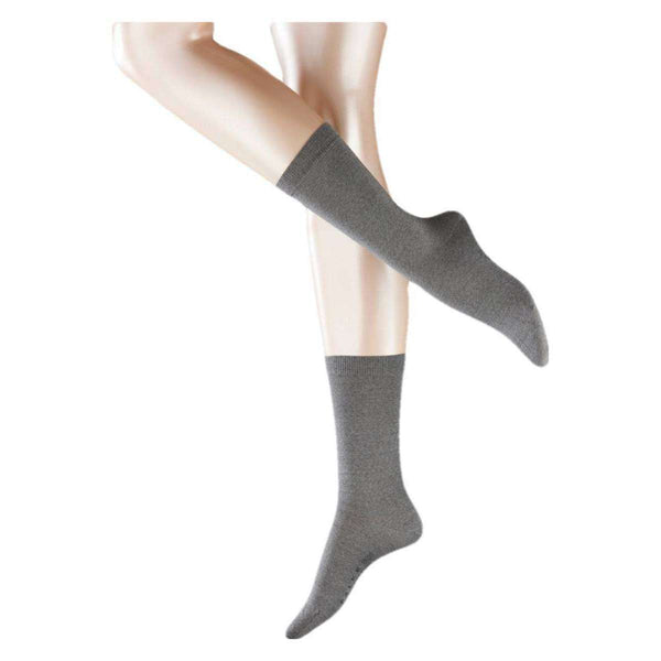 Falke Grey Softmerino Socks