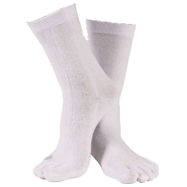 TOETOE White Essential Mid Calf Socks