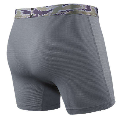 Saxx Underwear Co Grey Quest 2.0 Fly Boxer Brief