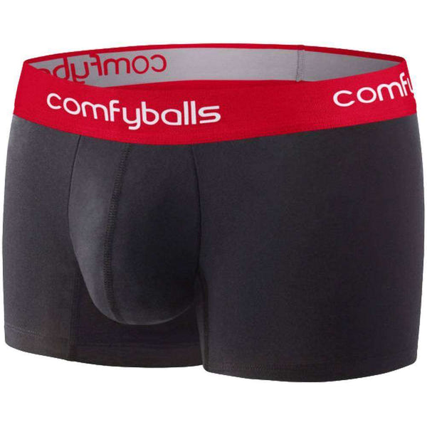 Comfyballs Black Regular Boxers