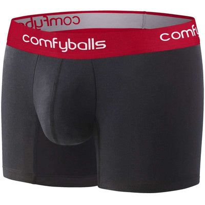 Comfyballs Black Long Boxers