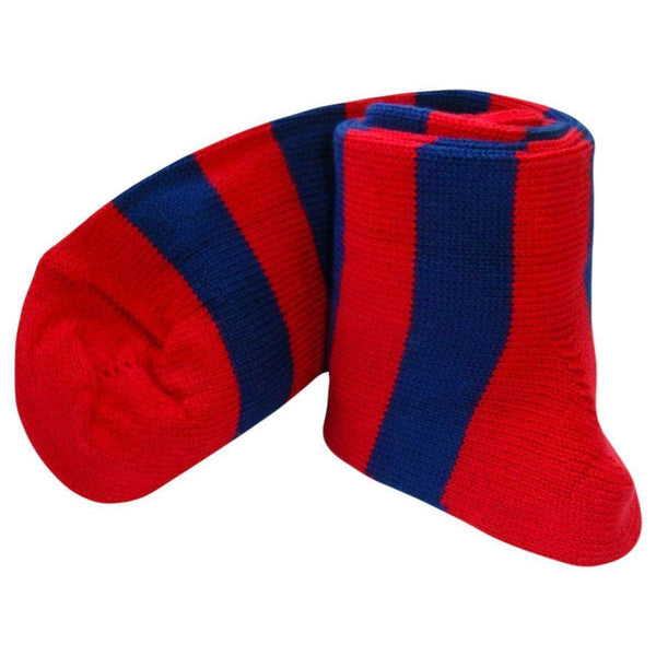 Bassin and Brown Red Hooped Stripe Socks