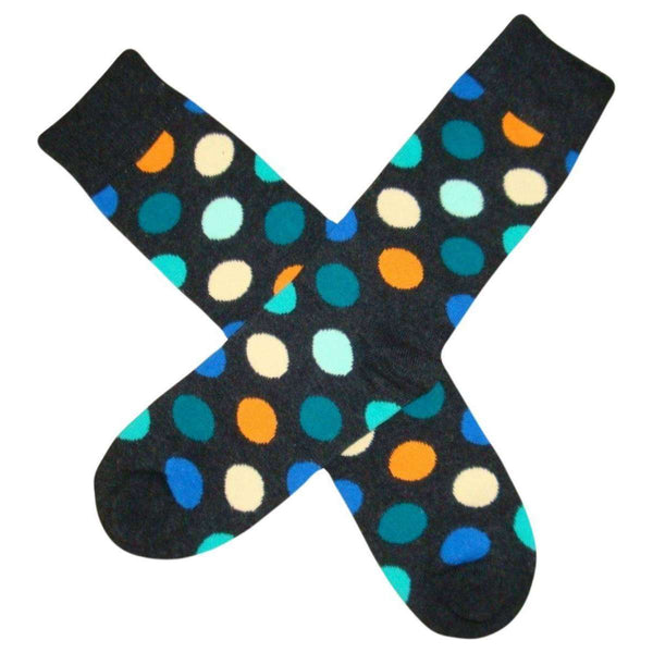 Bassin and Brown Grey Spotted Multi Socks