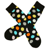 Bassin and Brown Black Spotted Multi Socks