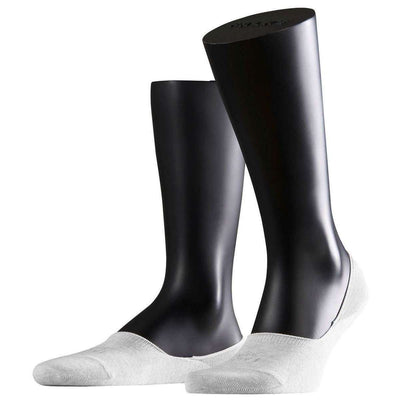 Falke White Step No Show Socks