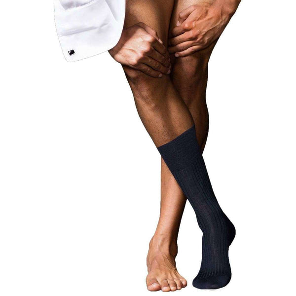 Falke Navy No7 Finest Merino Socks