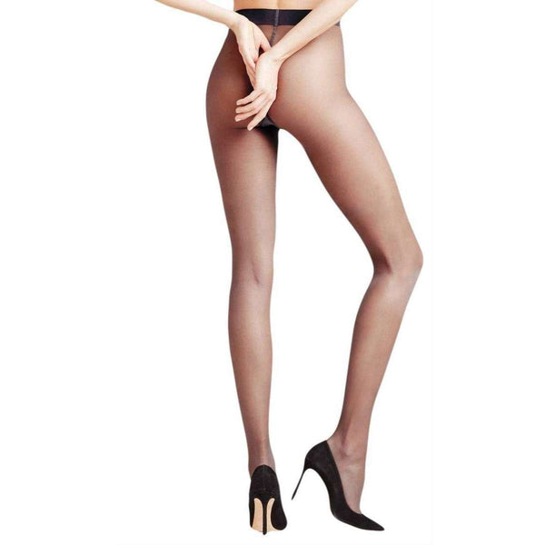 Falke Navy Seidenglatt 15 Den Transparent Shining Tights