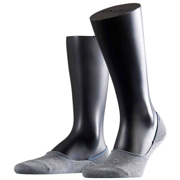 Falke Grey Step No Show Socks