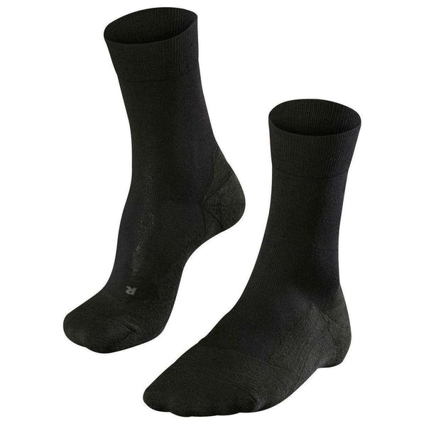 Falke Black Golfing Socks