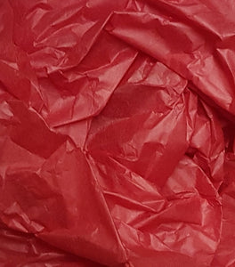 Red Trade Tissue Paper
