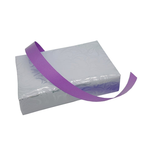 Soft Sheen Purple Poly Tear Ribbon-Gift-Floristry Ribbon