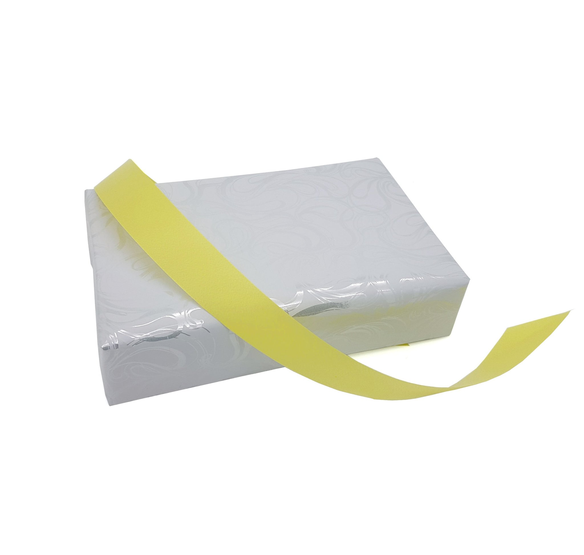 Soft Sheen Yellow Easy Tear Polyribbon - 22mm x 100m