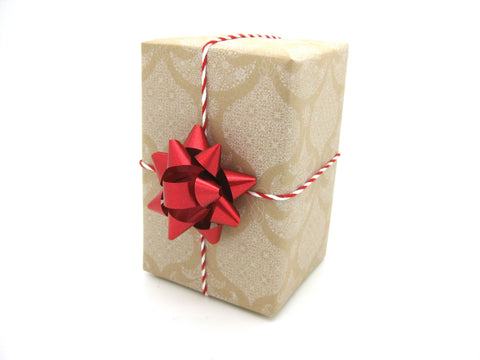 Recycled Xmas Gift Wrap White-Christmas Wrapping Paper